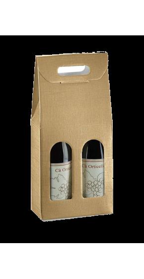 Fall zwei Flaschen