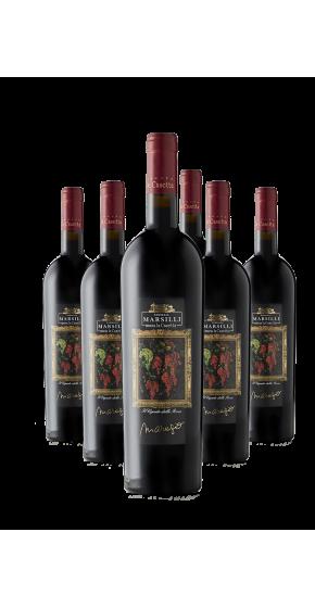 Marezio sechs Flaschen